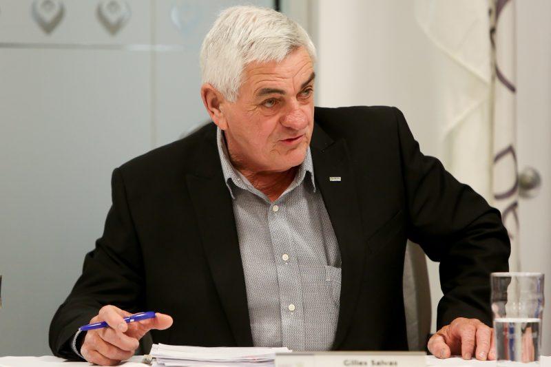 Gilles Salvas a obtenu le poste de préfet de la MRC de Pierre-De Saurel pour un autre mandat de deux ans. |  © Pascal Cournoyer