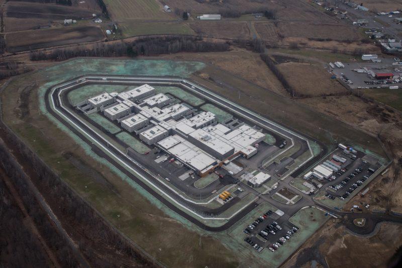 La construction de la nouvelle prison de Sorel-Tracy est presque terminée. | Photo TC Média - Pascal Cournoyer