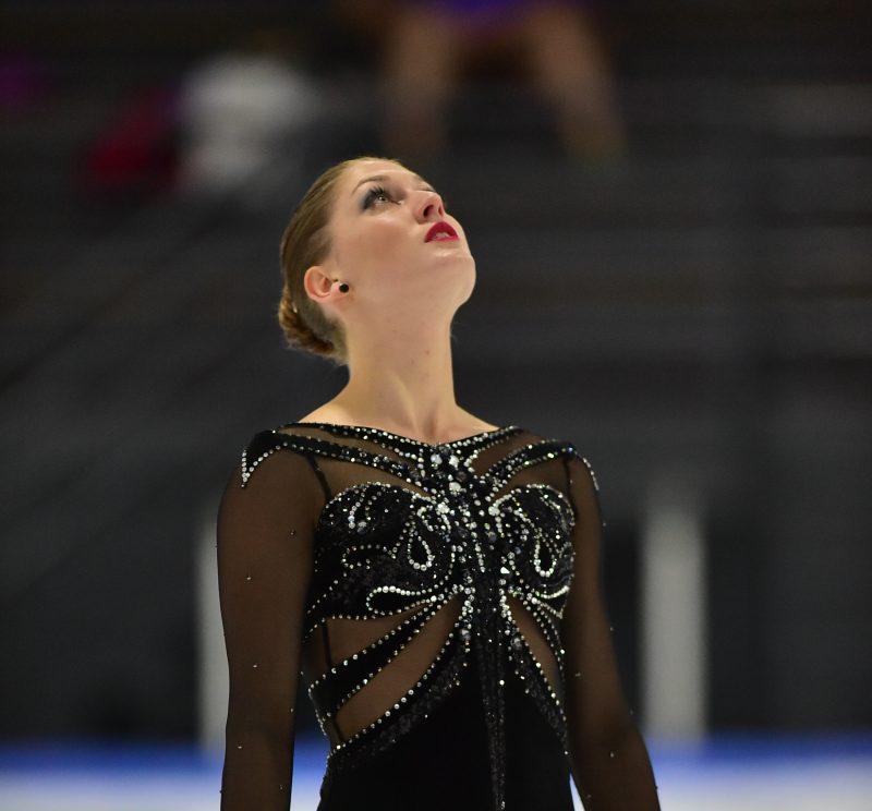 Kim DeGuise Léveillée est confiance de répéter un top 5 aux championnats canadiens de patinage artistique, à Halifax | Gracieuseté
