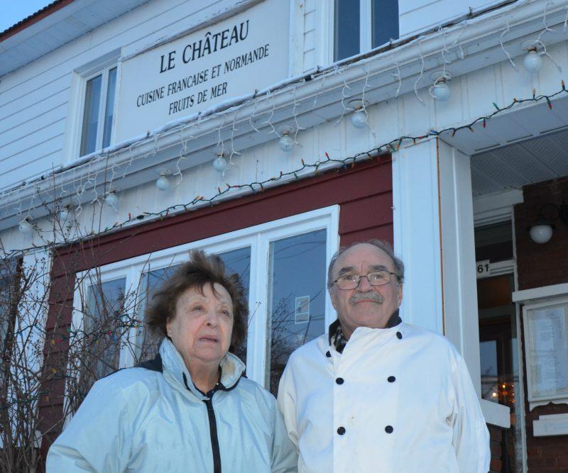 Michelle et Michel Baril disent adieu au restaurant Le Château situé à Contrecœur. | Photo: TC Média - Sarah-Eve Charland