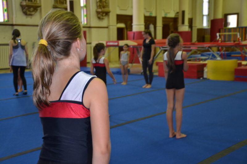 La finale régionale de gymnastique, qui s'est tenue les 4 et 5 février à l'école secondaire Bernard-Gariépy, a réuni 325 gymnastes. | TC Média - Sarah-Eve Charland