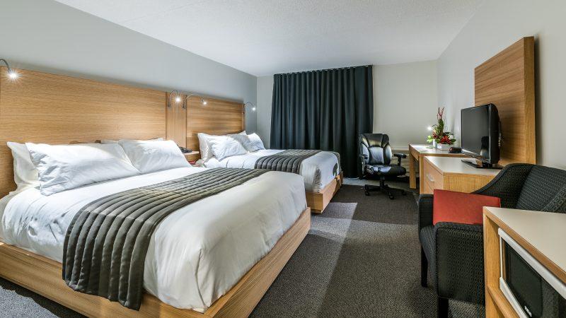 Les chambres de l'Hôtel de la Rive ont été rénovées. | Gracieuseté/ JF Mongeon