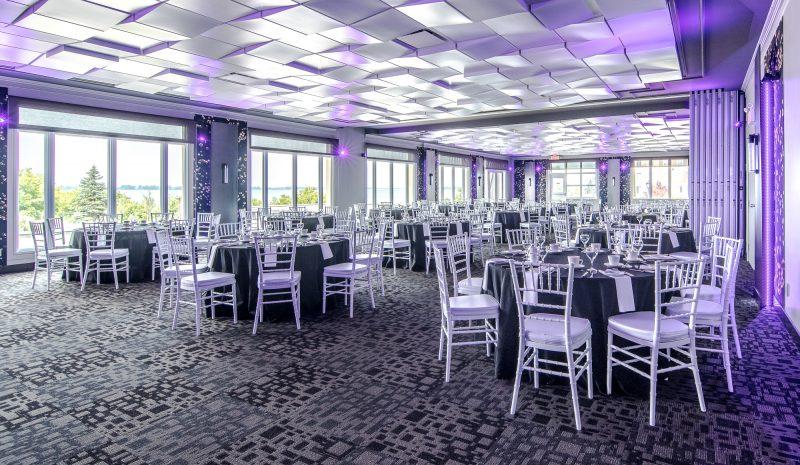 La salle de réception Saint-Laurent. | Gracieuseté / JF Mongeon