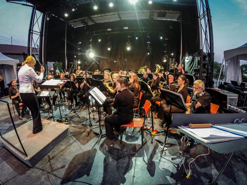 L'Harmonie Calixa-Lavallée participera à un spectacle-bénéfice le 2 avril prochain.   TC Média - Pascal Cournoyer