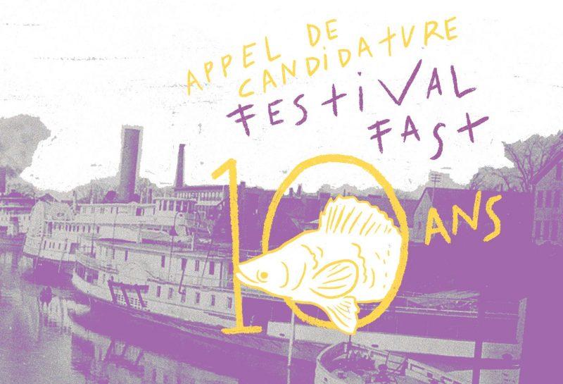 Le Festival FAST lance l'appel de candidatures sur son site web. | Gracieuseté