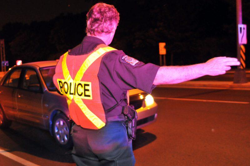 Trois conducteurs ont été arrêtés avec les facultés affaiblies dans la région du 13 au 18 avril dernier. | PhotoL TC Média- Archives