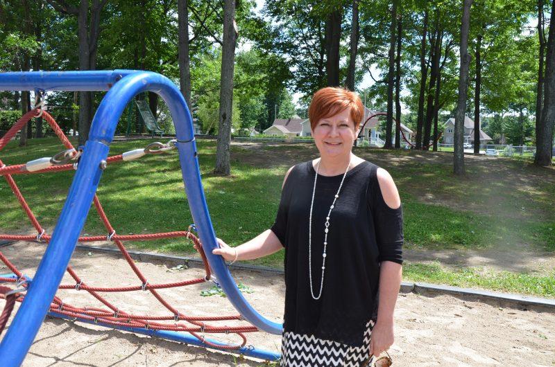 La rénovation du parc Bibeau est un projet de la conseillère Dominique Ouellet. | Photo: TC Média – Sarah-Eve Charland