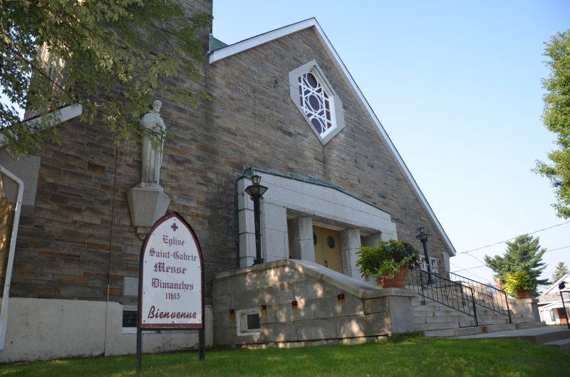 L'église Saint-Gabriel est à vendre depuis plus d'un an. | TC Média - archives