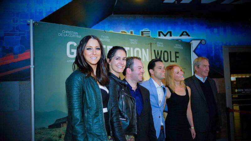 La Soreloise Amélie Paul (à gauche) fait partie de la distribution du film québécois Generation Wolf. | Photo: Gracieuseté