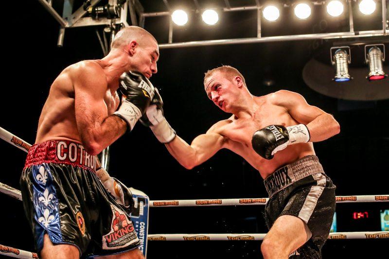 David Théroux aura la chance de se battre devant les siens pour une quatrième fois en deux ans. | TC Média - Pascal Cournoyer