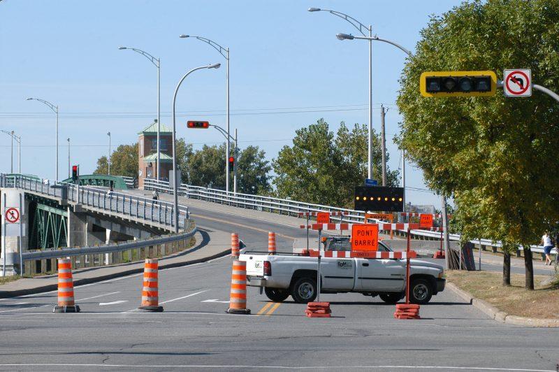 Des travaux auront lieu le 27 novembre prochain entre 9 h et 16 h sur le pont Turcotte à Sorel-Tracy.  |  © TC Média - archives