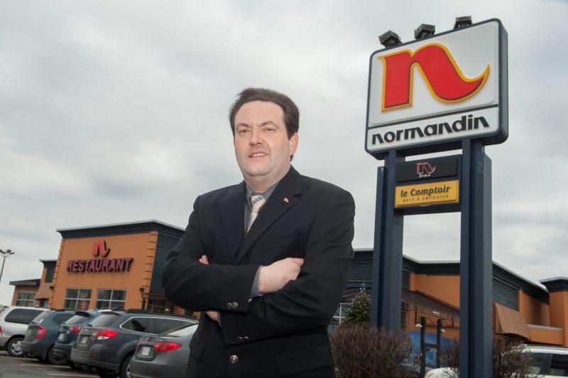 David Desrosiers a remporté le prix Restaurateur de l'année pour la chaîne de restaurants Normandin. | TC Media - Ghyslain Bergeron