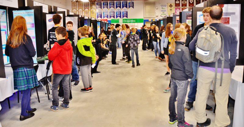 Lors de la Finale québécoise d'Expo-sciences 125 projets seront présentés au curling Aurèle-Racine de Sorel-Tracy. | Photo: TC Média - Julie Lambert
