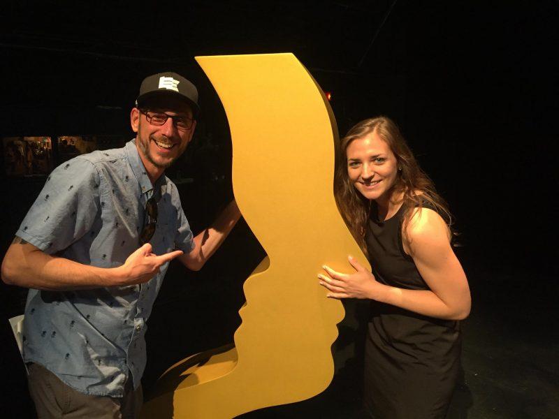 Le blogueur et coureur Dominic Arpin et la productrice de l'émission Cours toujours! Joannie Langevin étaient heureux de cette nomination aux Gémeaux. | Photo: Gracieuseté