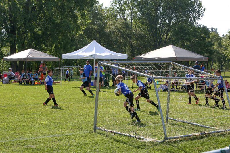 Les finales du soccer récréatif ont regroupé plus de 800 joueurs les 20 et 21 août. | TC Média – Pascal Cournoyer