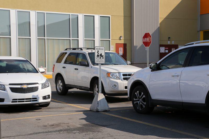 Les stationnements pour les jeunes familles sont peu nombreux à Sorel-Tracy. | TC Média - Pascal Cournoyer