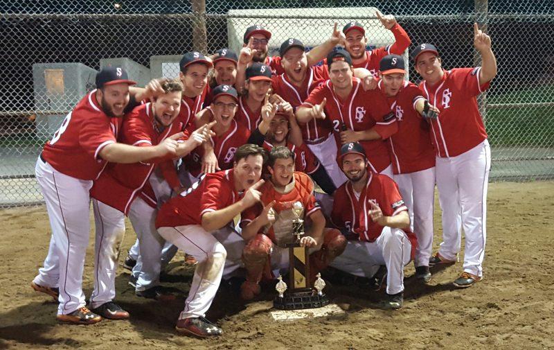 Les Survenants ont remporté un premier championnat après cinq ans de disette. | Photo TC Média - Gracieuseté
