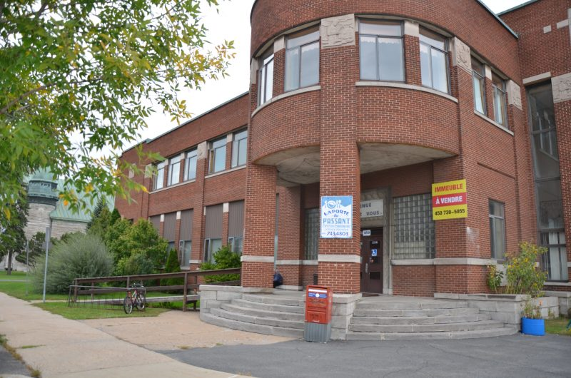 Le Centre communautaire Notre-Dame est en vente depuis le 20 septembre. | TC Média - Sarah-Eve Charland