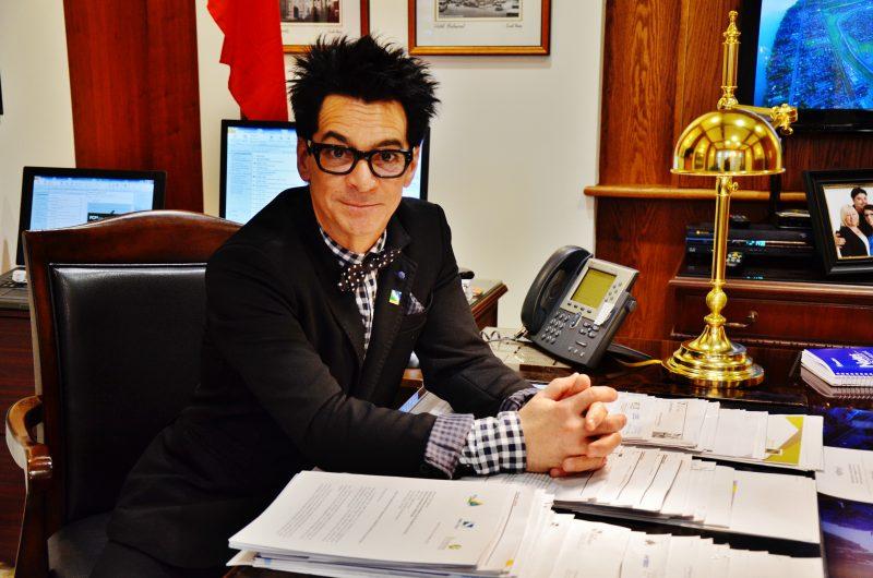 Le maire de Sorel-Tracy, Serge Péloquin | TC Média - Archives