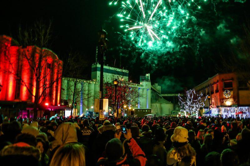 Le Party du réveillon a rassemblé près de 1000 personnes l'année dernière. | TC Média - Pascal Cournoyer