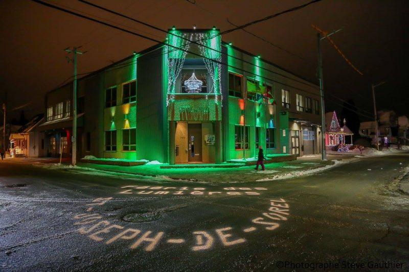 La Féérie des lumières illuminera Saint-Joseph-de-Sorel du 13 au 15 janvier. | Gracieuseté – Steve Gauthier/Ville de Saint-Joseph-de-Sorel
