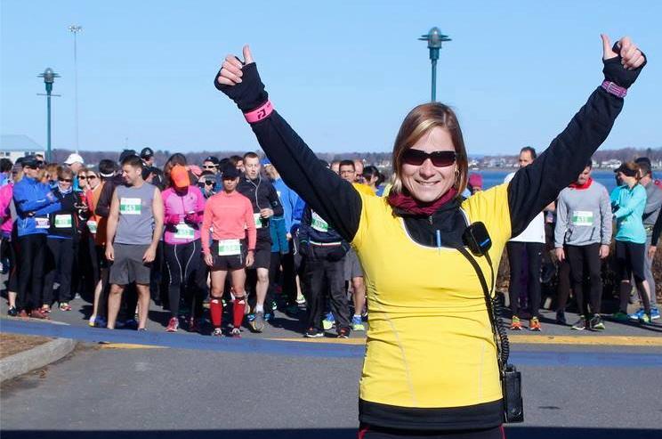 Mélanie Duclos est l'instigatrice de cette course qui part au parc Regard-sur-le-Fleuve le 23 avril prochain. | TC Média - archives