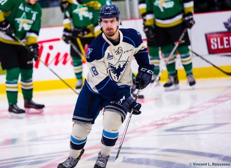 Julien Bahl aurait aimé participer aux séries à sa dernière saison avec le Phœnix. | Photo: Gracieuseté/Phœnix de Sherbrooke