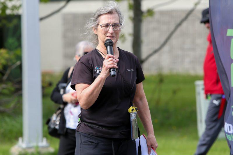 L'organisatrice du Duathlon Sorel-Tracy, Suzanne Lachance | Pascal Cournoyer