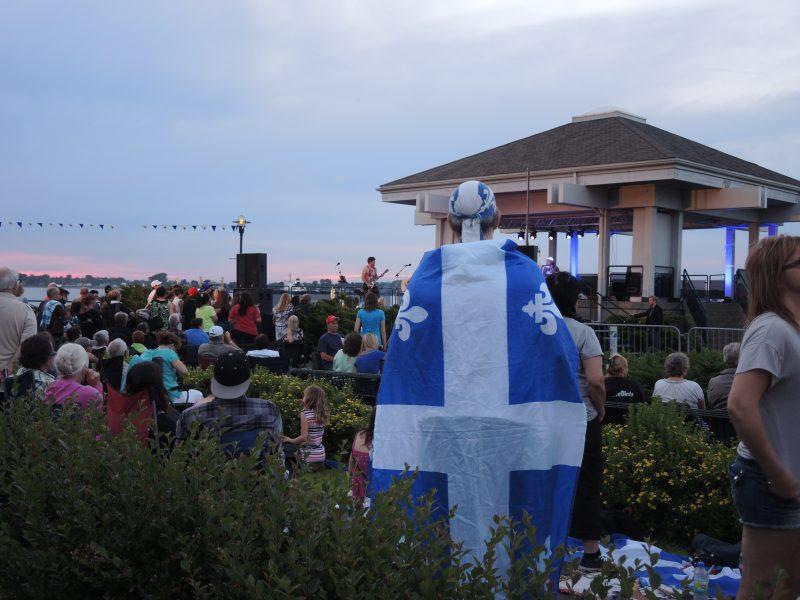 La Fête nationale sera célébrée au parc Regard-sur-le-Fleuve ce mardi 23 juin. | Photo : TC Média - Archives