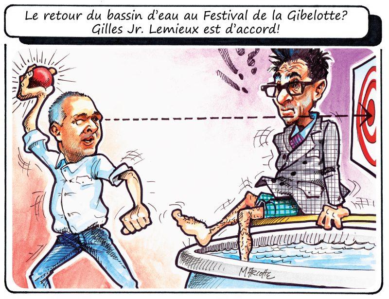 La caricature de Gilles Bill Marcotte en ce 23 juin 2015! | Gilles Bill Marcotte
