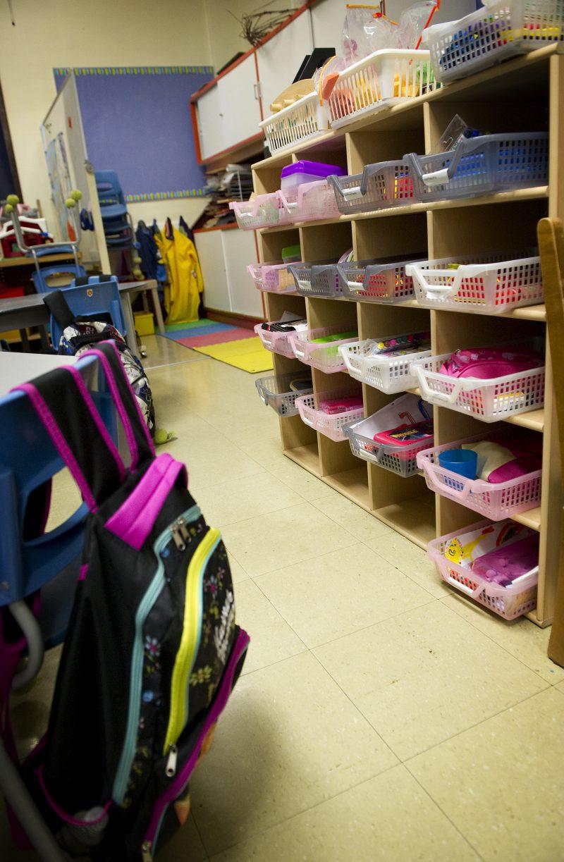 La Commission scolaire attendra en 2017-2018 pour ouvrir une deuxième classe de maternelle quatre ans. | TC Média - Archives