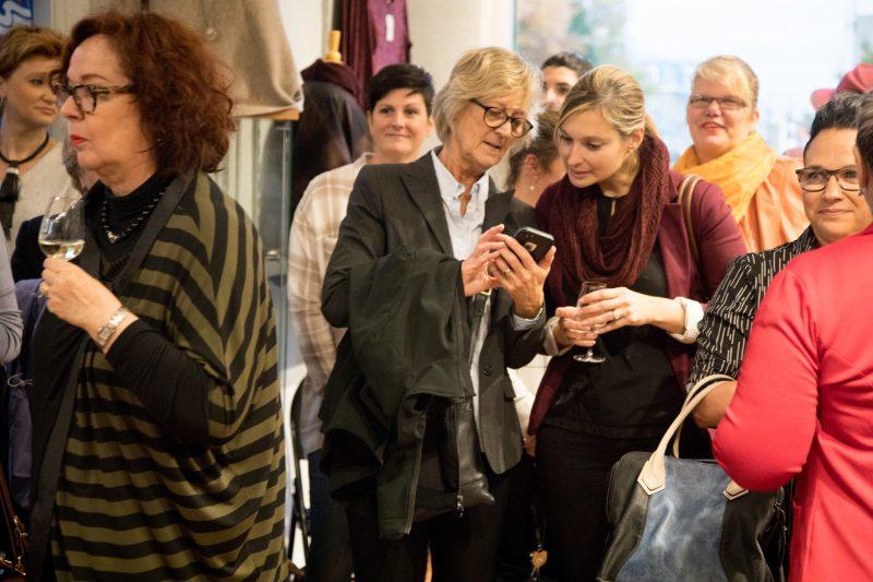 L'événement se déroulait le 17 octobre, à la boutique Dentelle et Denim. | Photos par Simon Ménard