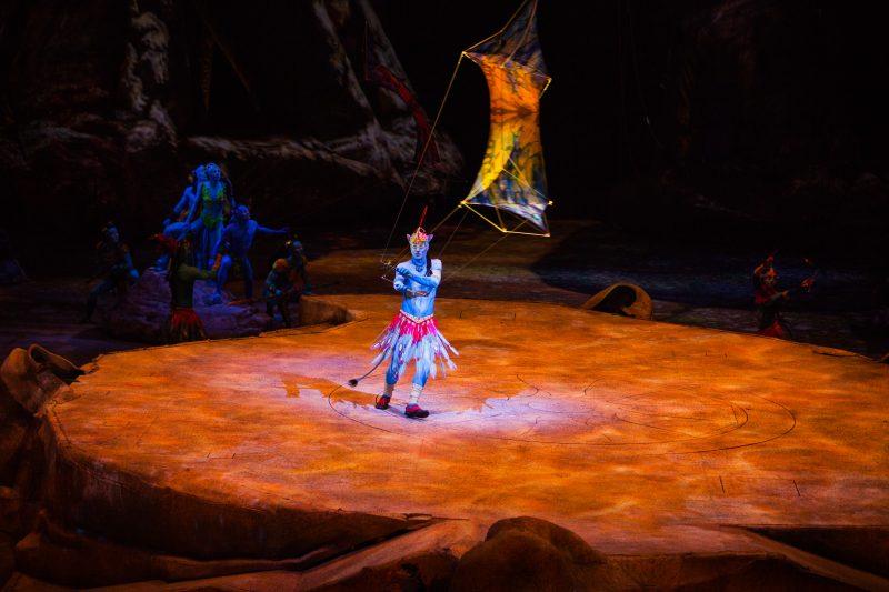 La nouvelle production Toruk est inspirée du film Avatar de James Cameron.