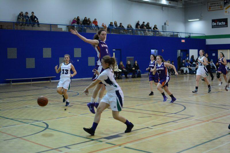 L'équipe féminine de basketball disputera son prochain match local le 5 février, à 19h, tout juste avant l'équipe masculine, au Cégep de Sorel-Tracy. | gracieuseté – Cégep de Sorel-Tracy