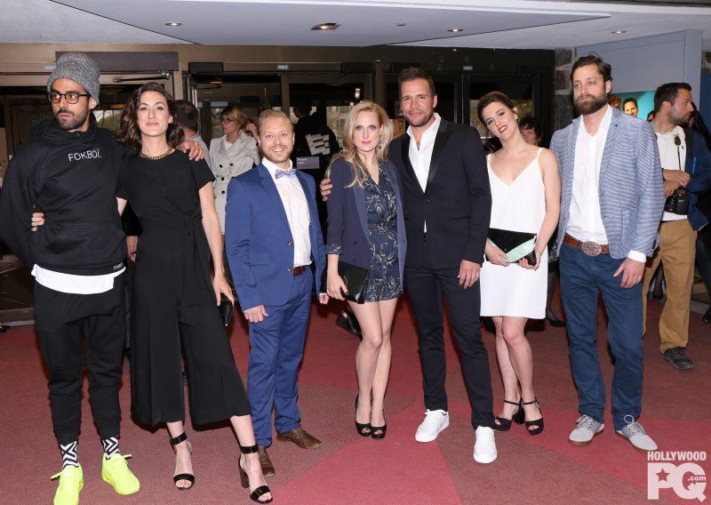 L'équipe de « Like-moi », lors de la soirée des Olivier. Guillaume Lambert est le troisième à gauche. | Photo: gracieuseté/ Karine Paradis/HollywoodPQ.com
