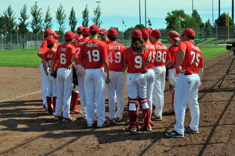L'équipe de baseball a perdu ses deux matchs aujourd'hui. | Photo: gracieuseté  Jean Bélanger