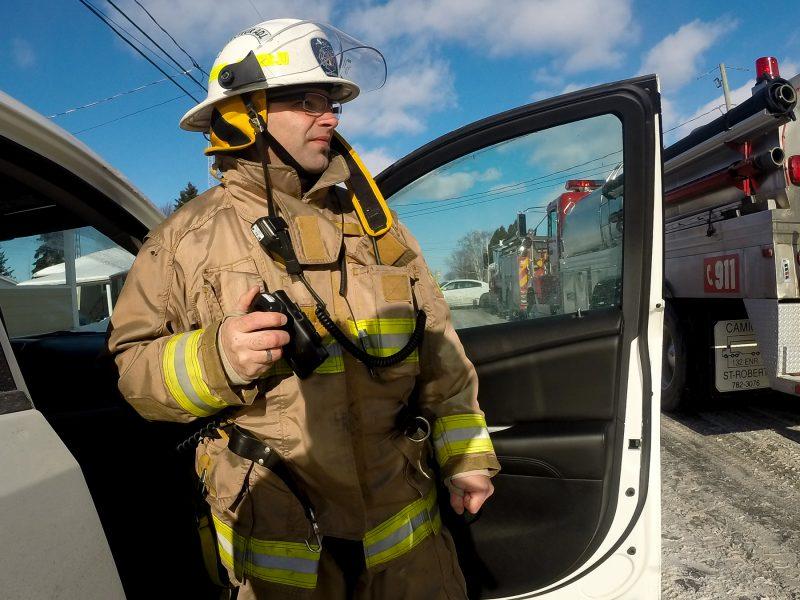 Le directeur du Service de sécurité incendie, Carl Woods.   TC Média - Pascal Cournoyer