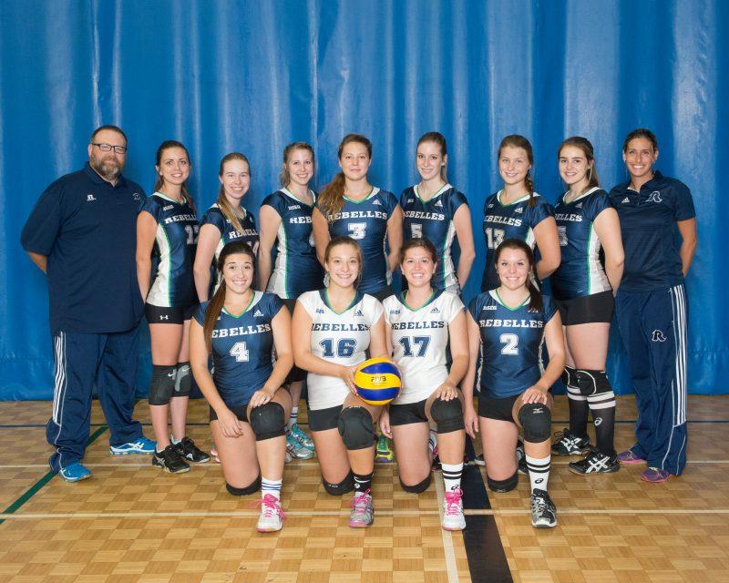 Équipe féminine de volleyball Les Rebelles | Gracieuseté / Philippe Manning