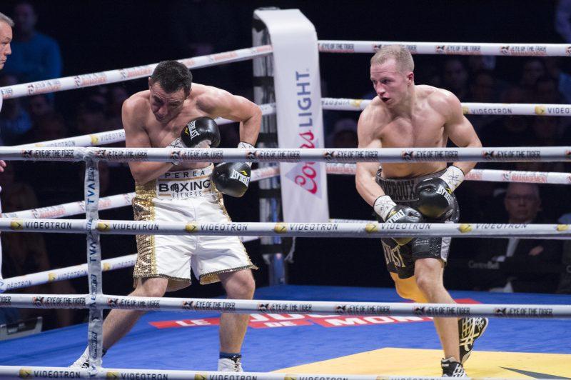 David Théroux s'est incliné à son dernier combat le 22 octobre, au Centre Bell, par décision partagée contre Jose Emilio Perea. | Photo: Serge Cloutier