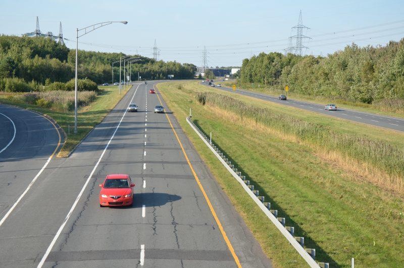 Des travaux de réfection seront effectués au pont de l'autoroute 30. | Photo: TC Média - Archives