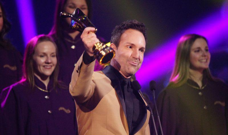 Éric Salvail a récolté son lot de trophées Artis dans sa carrière. |  © Photo: TC Media – Mario Beauregard