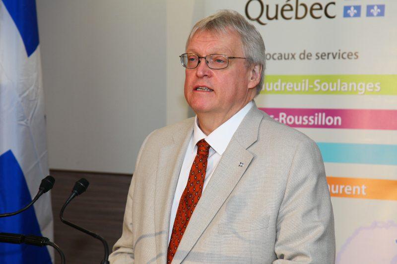 Le ministre de la Santé, Gaétan Barrette, a instauré un guichet d'accès à un médecin de famille provincial. | Photo: TC Média – Andrew Clark