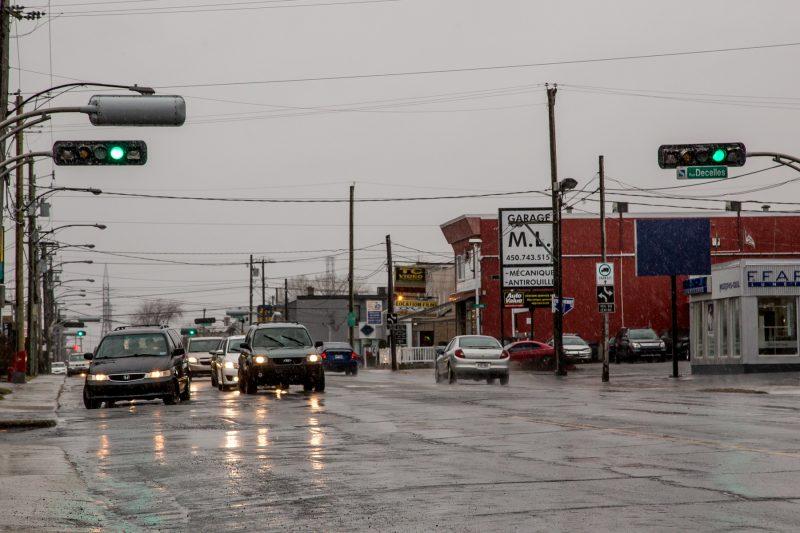 Les feux de circulation sur la route Marie-Victorin font l'objet de discussions à la Ville de Sorel-Tracy. | TC Média - Pascal Cournoyer