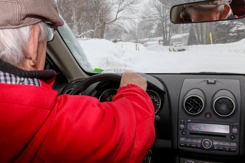 De plus en plus d'aînés de 85 ans et plus sont sur nos routes, révèlent des données de la SAAQ.   Photo: TC Média - Pascal Cournoyer
