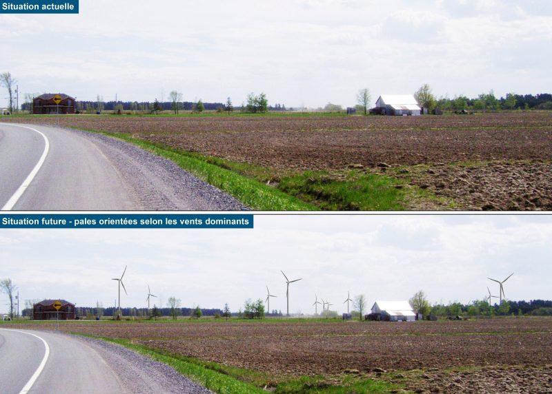 La CPTAQ a autorisé, le 18 juin dernier, la construction du parc éolien. | Photo : Gracieuseté - Archives