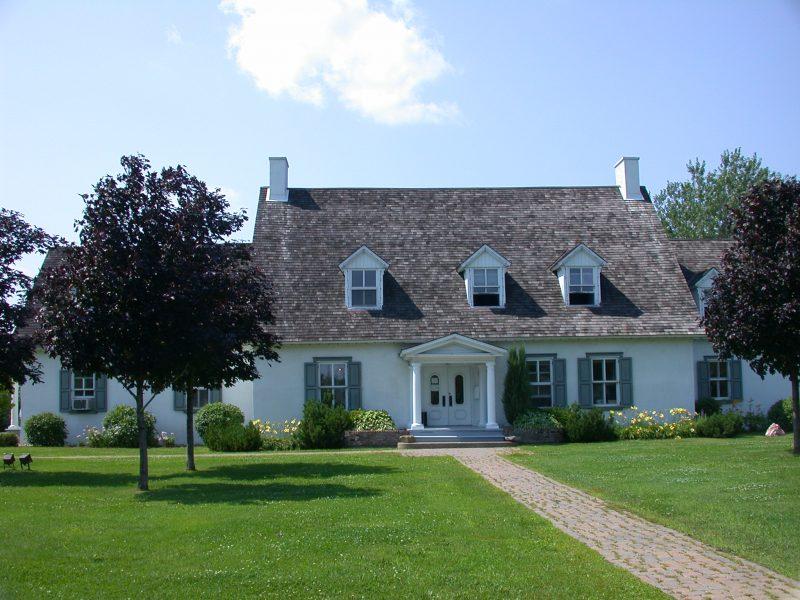 La Maison des Gouverneurs, une résidence de fonction construite en 1781. | Photo: TC Média - archives