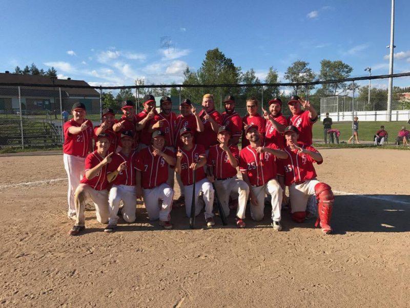 Les Survenants de Sorel-Tracy ont gagné le tournoi provincial de baseball junior BB à Charlesbourg, le 23 juillet 2017. | Gracieuseté