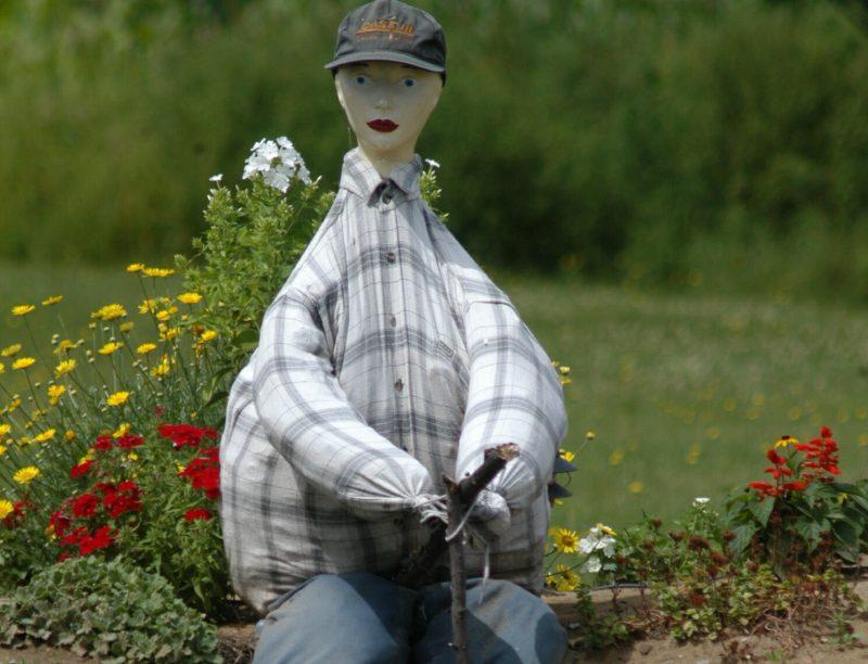 La route des épouvantails aura un second souffle grâce à la tenue d'un concours de conception d'épouvantails géants. | Photo: Gracieuseté