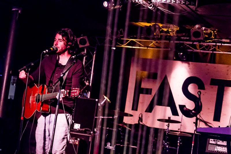 Le chanteur sorelois Antoine Lachance a offert une prestation samedi dernier lors de la 8e édition du FAST | Photo: Gracieuseté