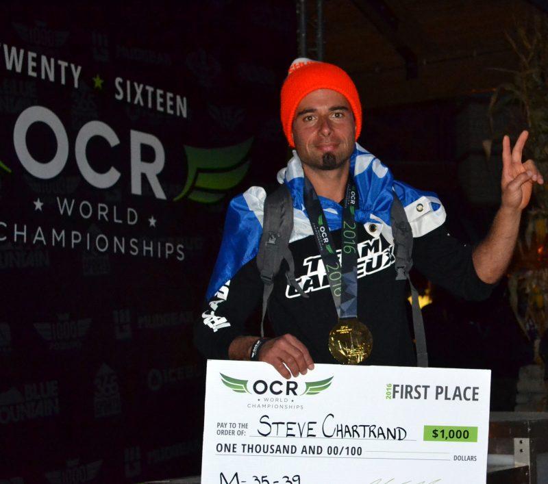Grâce à sa première place aux Championnats du monde de courses à obstacles, le Sorelois Steve Chartrand s'est fait un nom dans ce sport. | Photo: Annie Marcouiller